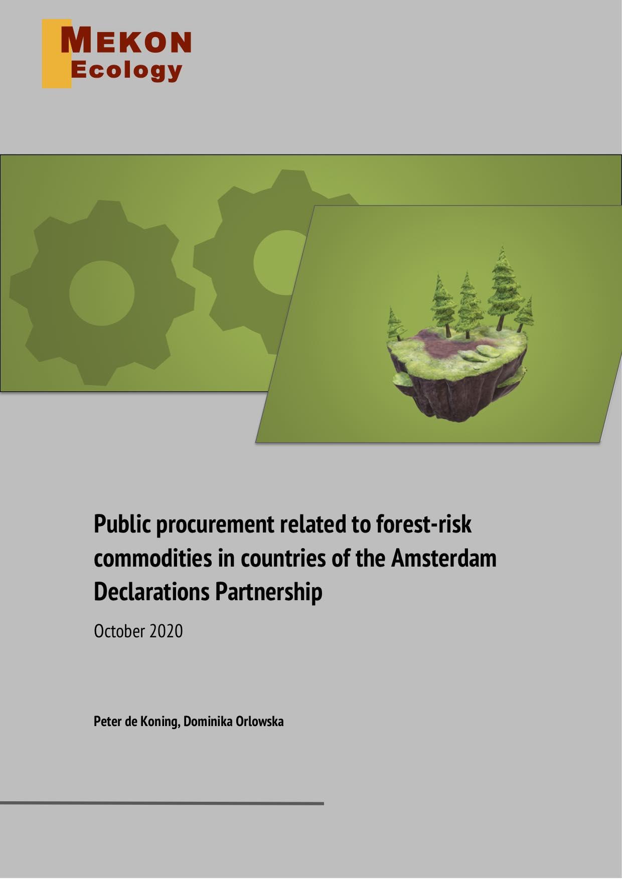 Front cover Public Procurement